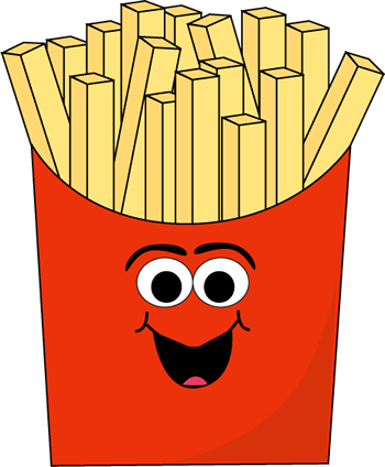 Cartoon French Fries Clip Art - Cartoon French Fries Image