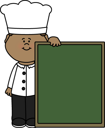 Chef with a Chalkboard