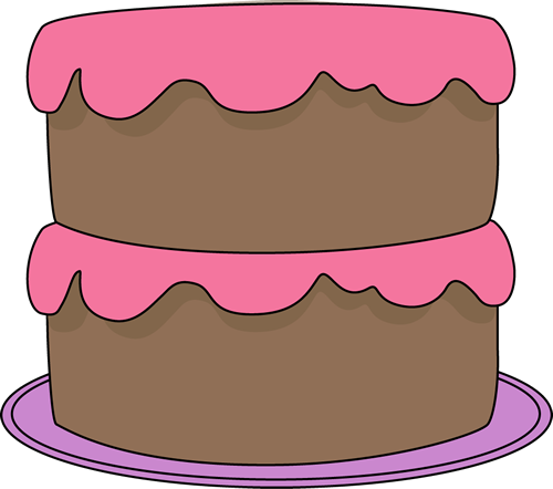 Clip Art Clip Art Cake cake clip art images chocolate with pink frosting