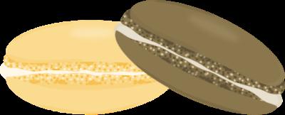 Chocolate and Vanilla Macaron's