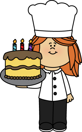 Female Chef Clip Art
