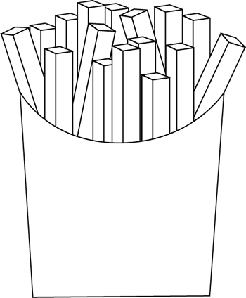 Black and White French Fries
