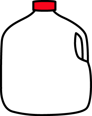 Gallon of Milk Clip Art