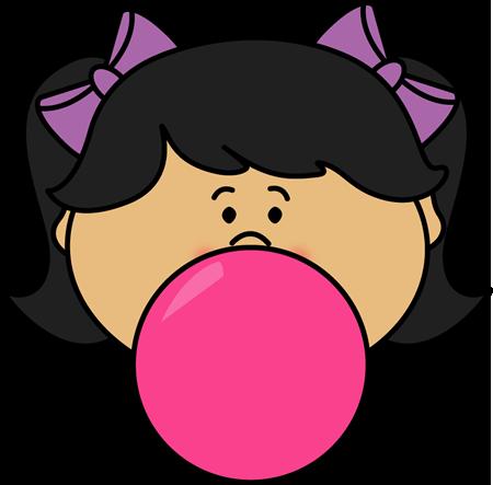 Clip Art Bubble Gum Clipart bubblegum clip art images girl blowing bubble