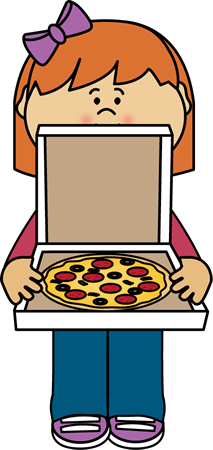 girl holding pizza box clip art girl holding pizza box image rh mycutegraphics com