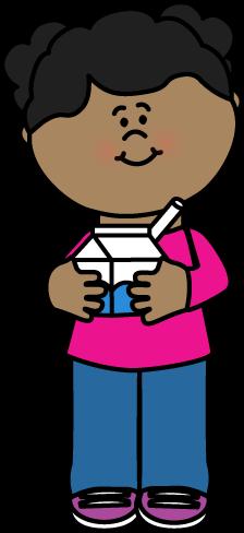 Girl with Milk Carton
