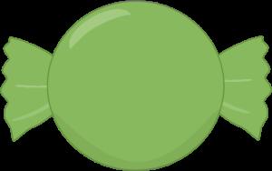 Green Hard Candy
