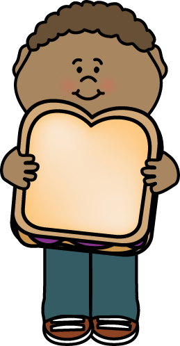 Kid with Peanut Butter and Kid with Peanut Butter and Jelly Sandwich Sandwich