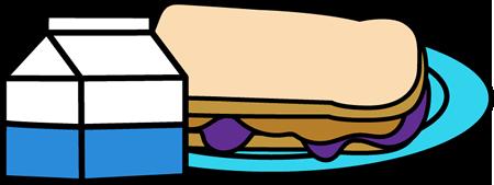 Milk and Sandwich