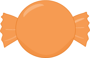 Orange Hard Candy