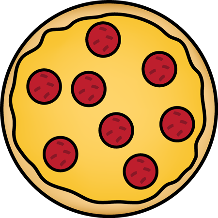 Pepperoni Pizza Clip Art - Pepperoni Pizza Image