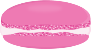 Pink Raspberry Macaron