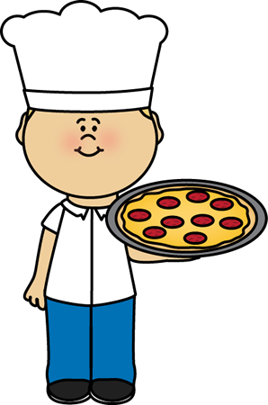 Pizza Chef Clip Art - Pizza Chef Image