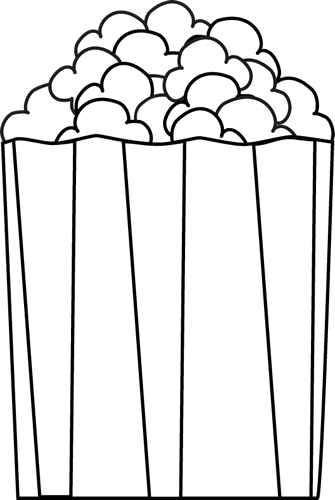 black and white popcorn clip art black and white popcorn image rh mycutegraphics com clipart of popcorn bag clip art of popcorn bags