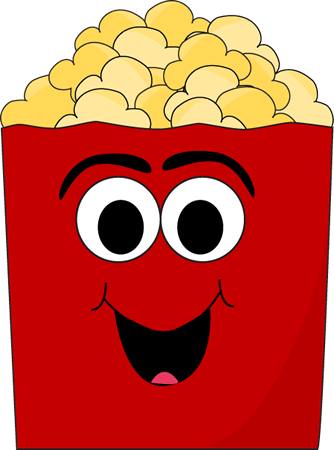 Cartoon Popcorn Clip Art Pictures