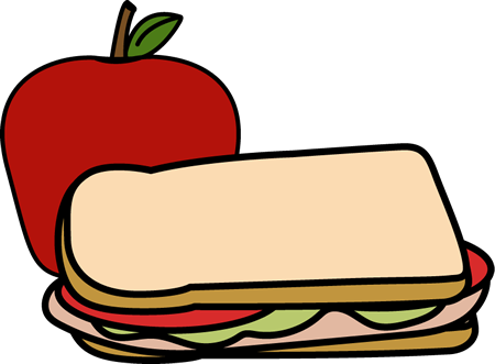 Sandwich with Apple
