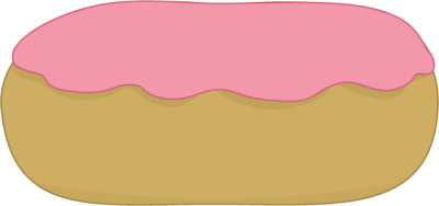 Strawberry Iced Donut