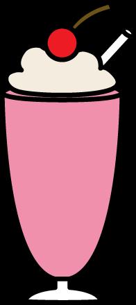 Strawberry Milkshake Clip Art
