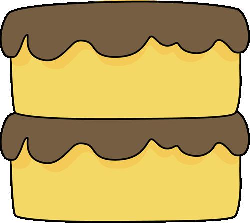 Yellow Cake Clip Art : Yellow Cake Clip Art - Yellow Cake Image