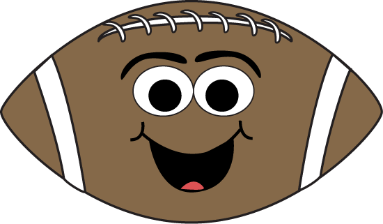 Cartoon Face Football