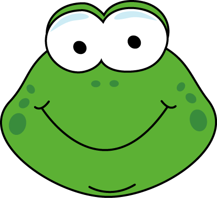 Cartoon Frog Face
