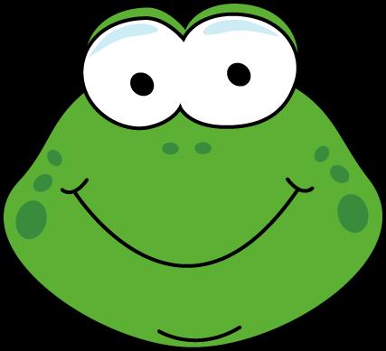 Cartoon Frog Face