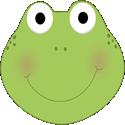 Cute Frog Head