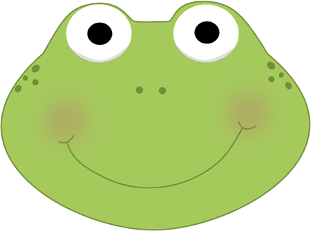 cute frog head clip art cute frog head image