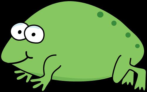 Cartoon Froglet