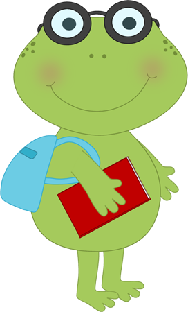 school frog clip art school frog image rh mycutegraphics com