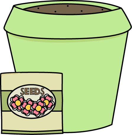Flower Pot with Seeds