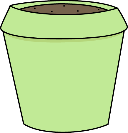 Green Flower Pot