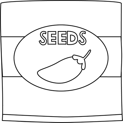 Black and White Pepper Seed Packet