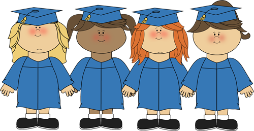 Girls Graduating Clip Art - Girls Graduating Image