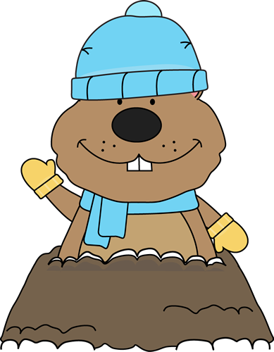Clip Art Groundhog Day Clip Art groundhog day clip art images winter groundhog