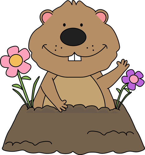 Spring Groundhog