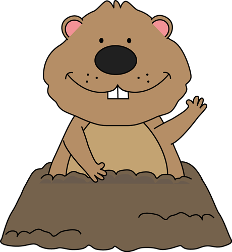 Clipart day Groundhog pictures