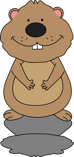 Clip Art Groundhog Day Clip Art groundhog day clip art images sees his shadow
