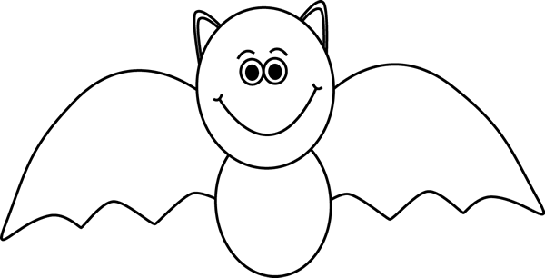 Black and White Bat
