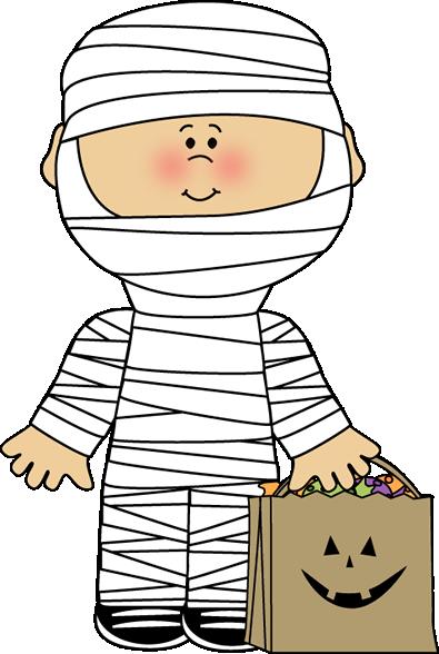 Halloween Mummy Boy