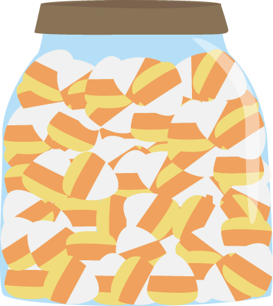 Jar of Candy Corn