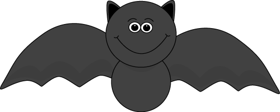 Cute Halloween Bat Clip Art - Cute Halloween Bat Image