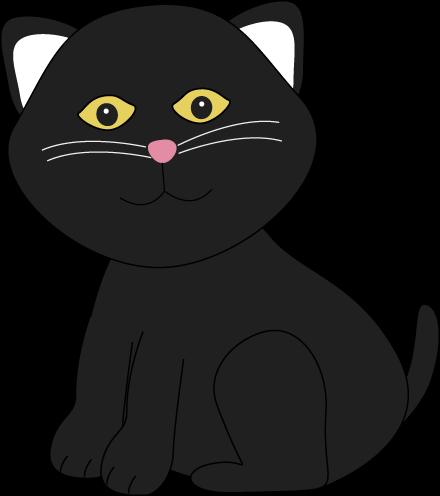 Cute Halloween Black Cat
