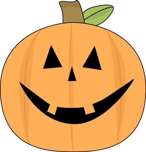 Cute Halloween Jack-O-Lantern