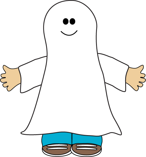 Halloween Kid Ghost