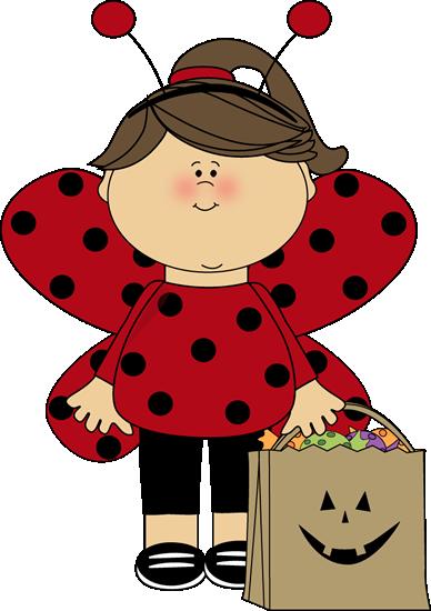 Halloween Ladybug Girl