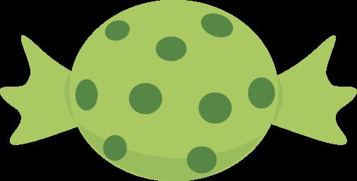 Green Halloween Candy