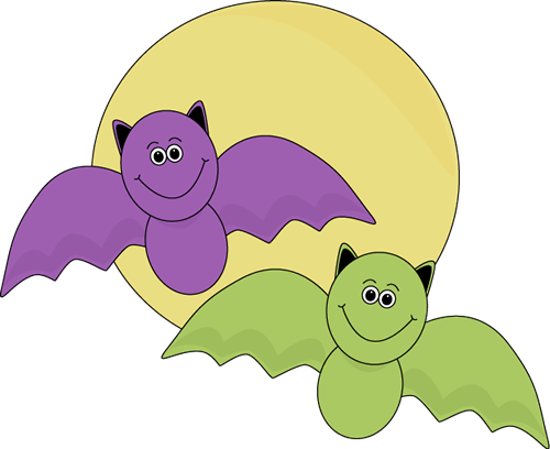 Flying Halloween Bats