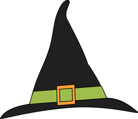 Green and Black Witches Hat