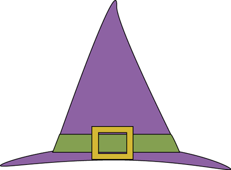 Purple Witches Hat